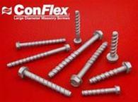 ConFlex Large Diameter Concrete Anchors - Hurripanel Storm