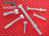 Bi-Flex bi-metal self-drilling fasteners